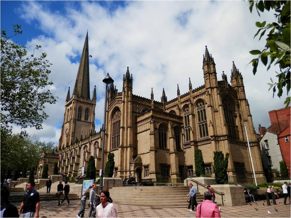 Wakefield Cathedral, Yorkshire